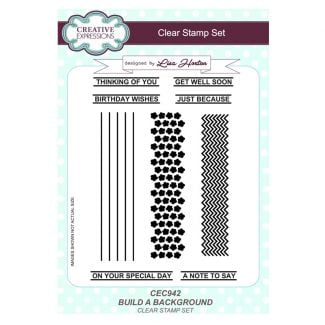 Build a Background A5 Clear Stamp Set