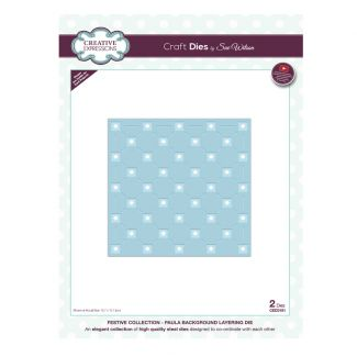 Festive Collection Paula Background Layering Craft Die