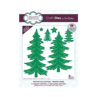 Creative Expressions Sue Wilson Winter Pines Craft Die
