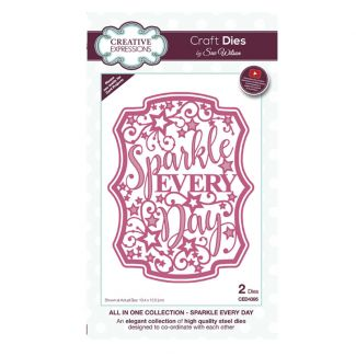 All in One Sparkle Every Day Craft Die