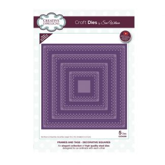 Frames & Tags Decorative Squares Craft Die