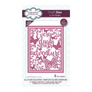 Sue Wilson All In One Collection - Every Day Is A New Adventure Craft Die