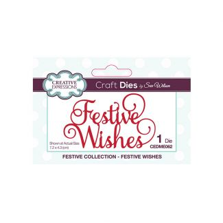 Creative Expressions Sue Wilson Festive Wishes