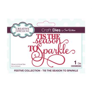 Creative Expressions Sue Wilson Mini Expressions Tis The Season To Sparkle Craft Die