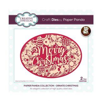 Creative Expressions Paper Panda - Ornate Christmas