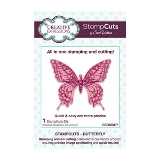 Creative Expressions Sue Wilson Butterfly StampCuts Die
