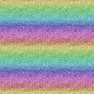 Chatham Glyn Crafty Cottons - Rainbow Glitter (1/2 metre)