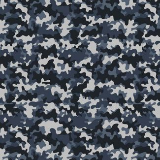 Chatham Glyn Crafty Cottons - Camouflage Mono (1/2 metre)