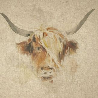 Chatham Glyn Panel - Highland Cow