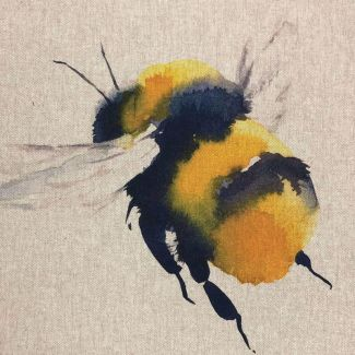 Chatham Glyn Linen Mix Panel - Queen Bee Panel