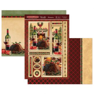 Eat, Drink & be Merry! Luxury Topper Set