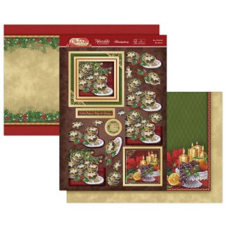 Eat, Drink & Be Merry Luxury Topper Set