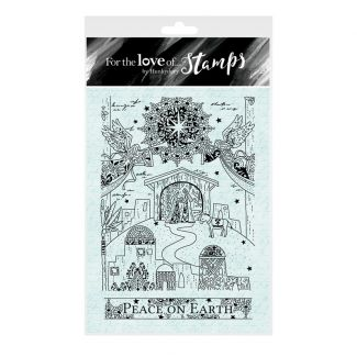 For the Love of Stamps A6 Stamp Set - A Child is Born