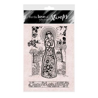 For the Love of Stamps A6 Stamp Set - Mary & Jesus