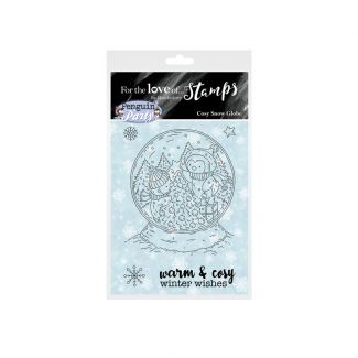 For the Love of Stamps A7 Stamp Set - Snow Globe Surprise
