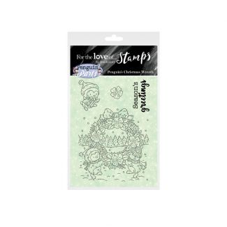 For the Love of Stamps A7 Stamp Set - A Wonderful Wreath
