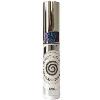 Cosmic Shimmer Opal Blaze Touch Tip - Sapphire Grape 8ml
