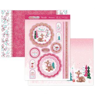 Happy Christmas My Deer Luxury Topper Set