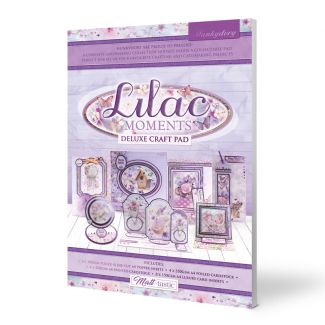 Deluxe Craft Pads - Lilac Moments