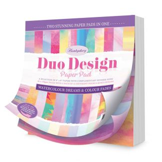 Duo Design Paper Pad - Watercolour Dreams & Colour Fades