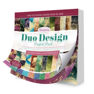 Duo Design Paper Pad - Gilded Inks & Glitteresque