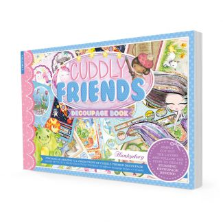 Cuddly Friends Decoupage Book