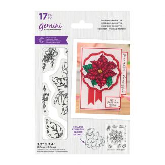 Gemini - Stamp & Die - December - Poinsettia
