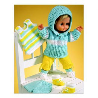 Sirdar Dolls Clothes Pattern - Track suit etc