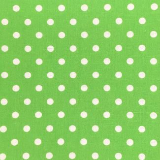 Dotty Cotton Fabric - Apple (half metre)
