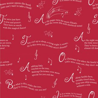 Debbie Shore - A Christmas Tail - A Christmas Tail Story - Fat Quarter