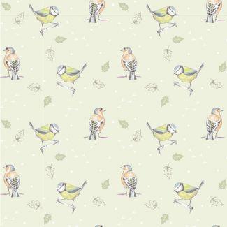 Debbie Shore - Garden Birds - Garden Birds - Fat Quarter