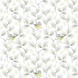 Debbie Shore - Garden Birds - Bird Vines - Fat Quarter
