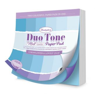 Duo Tone Paper Pad - Cornflower & Lovely Lilac
