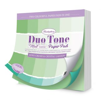 Duo Tone Paper Pad - Kiwi Crush & Crystal Lagoon