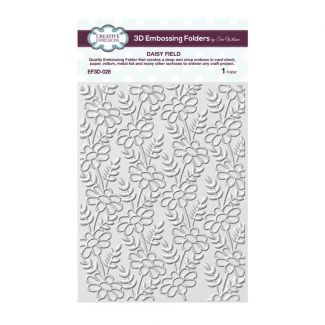 Daisy Field 3D 5 3/4 x 7 1/2 3D Embossing Folder