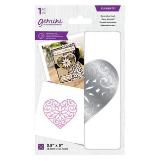 Gemini Die - Elements - Decorative Heart