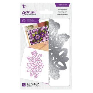 Gemini Die - Elements - Floral Arrangement