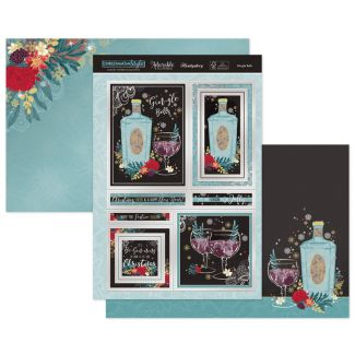 Gin-gle Bells Luxury Topper Set