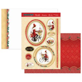 Riding Home for Christmas Luxury Topper Set