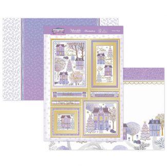 Winter Village Luxury Topper Set