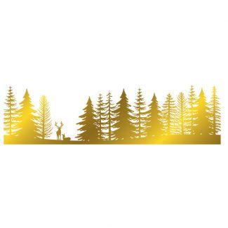 Gemini - Foil Stamp Die - Elements - Pine Forest