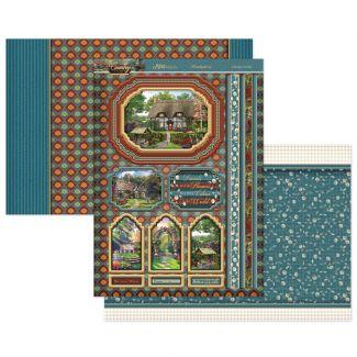 Cottage Garden Luxury Topper Set