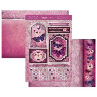 Blushing Butterflies Luxury Topper Set