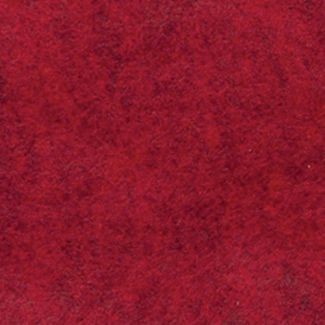 Wool Mix Felt - Marl Red - 183cm x