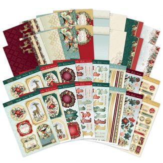 A Festive Family Christmas Luxury Card Collection