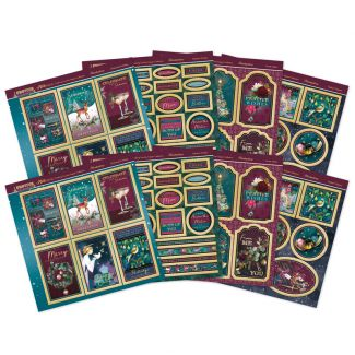Festive Radiance Mirri Magic Finishing Touches Topper Collection
