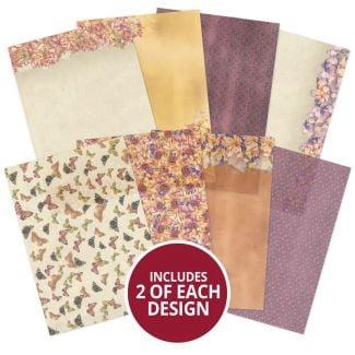 Forever Florals - Autumn Days Printed Parchment