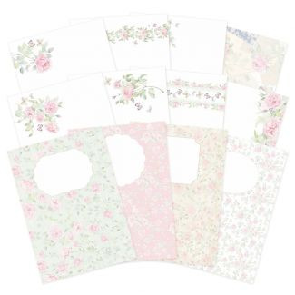 Forever Florals - Rose Luxury Card Inserts