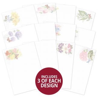 Forever Florals - Spring Melody Luxury Card Inserts