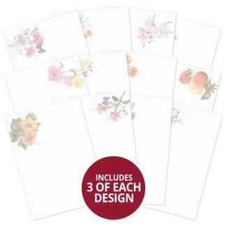 Forever Florals - Summer Splendour Luxury Card Inserts